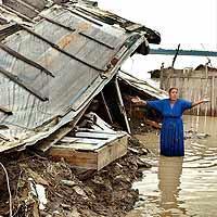 Romania, il dramma delle alluvioni