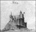 I cavalieri sulla fortezza di Doboj