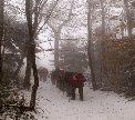 Ivanšćica sotto la neve