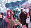 I giorni d'inverno sul Monte Kozara