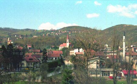 Zavidovici, la Bosnia centrale