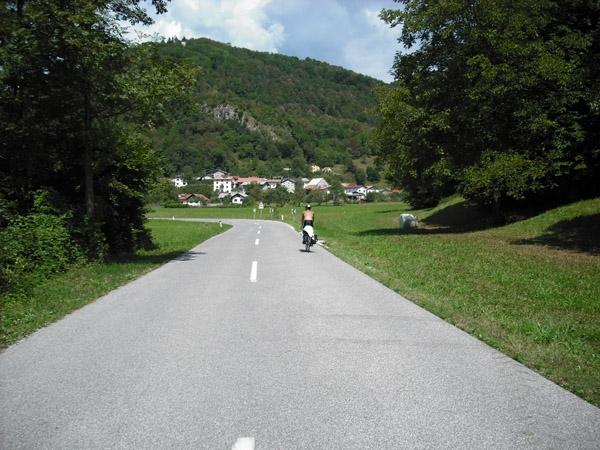 In bicicletta per la Slovenia