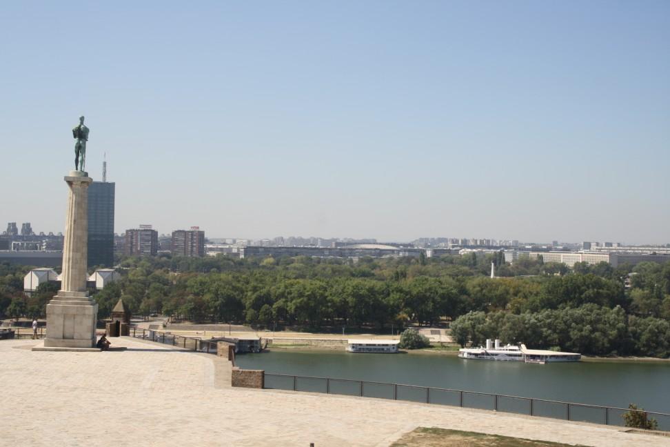 Da Belgrado a Novi Sad.