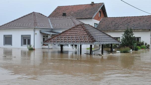 Alluvione: la situazione nel sud della Serbia